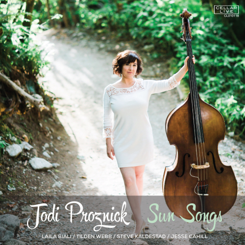 Jodi Proznick Sun Songs cover art jazz bass vancouver